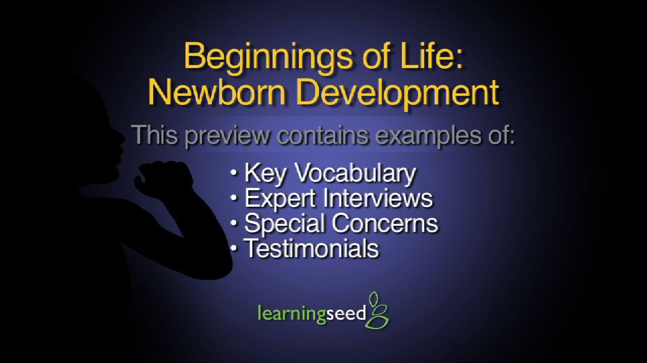 Newborn Development