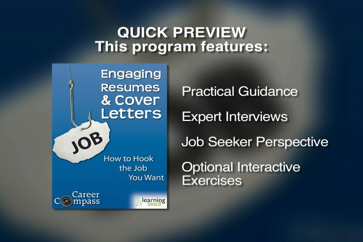 Engaging Resumes and Cover Letters