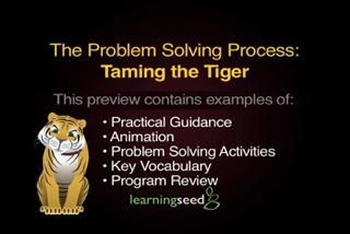 Problem Solving Process, The