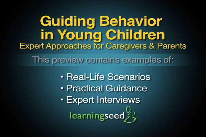 Guiding Behavior in Young Children